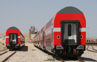 Latest order increases Israel Railways' fleet of Bombardier-built double-deck coaches to 425