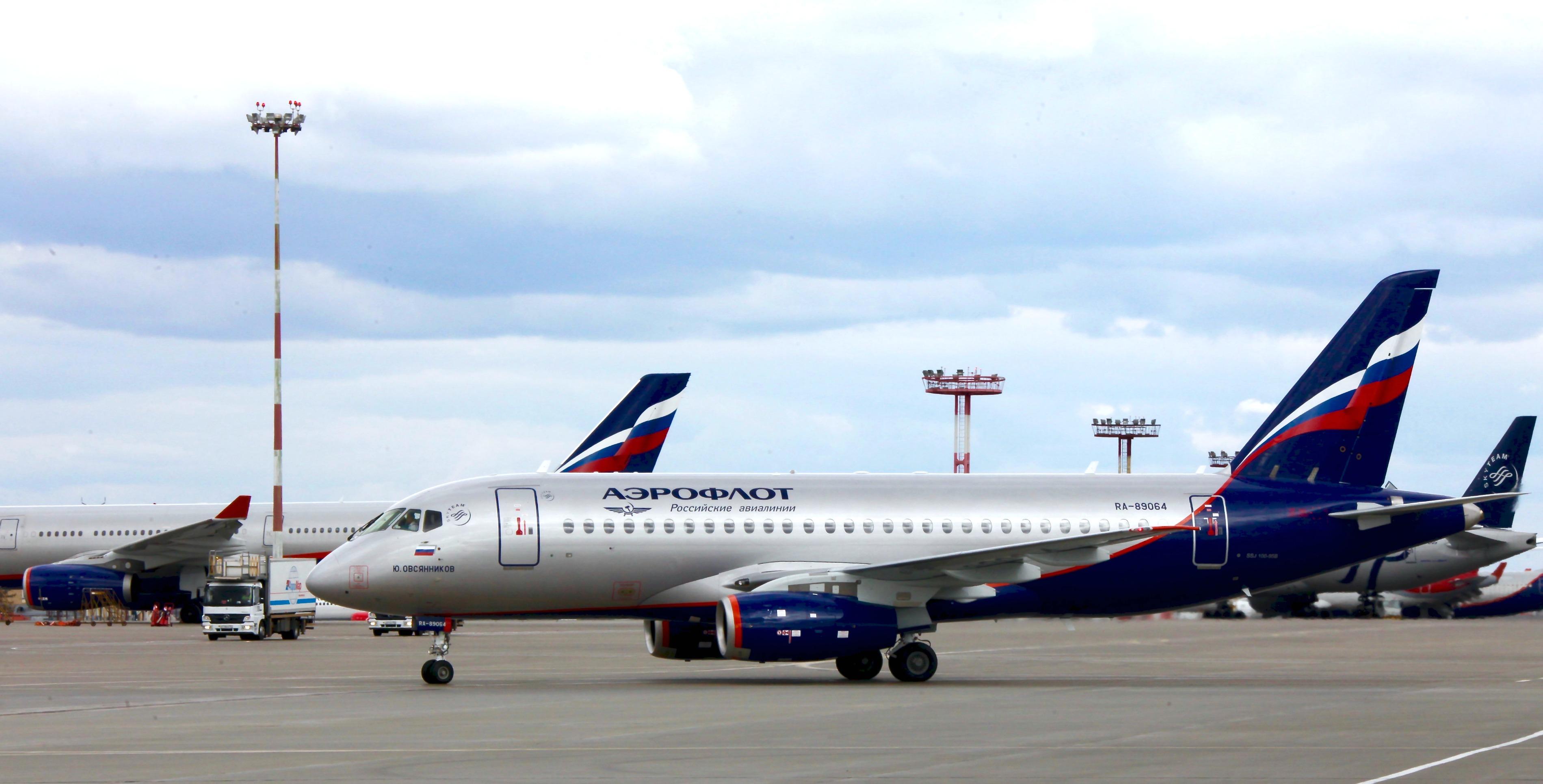Aeroflot welcomes new Sukhoi Superjet 100 into its fleet