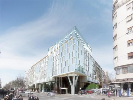 Hilton Belgrade Exterior