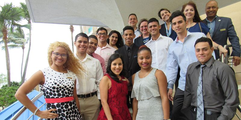 Marriott International announced its newest venture with the Youth Career Initiative (YCI) in Puerto Rico