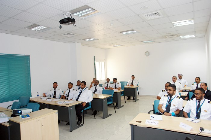 "Oman Air's Security Department delivered ""Security Aircraft Search"" training for its personnel"