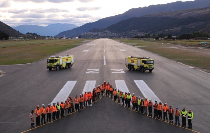 Queenstown Airport announces completion of runway and airfield lighting upgrade