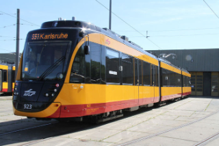 The BOMBARDIER FLEXITY dual-voltage tram trains for Albtal-Verkehrs-Gesellschaft GmbH (AVG) The BOMBARDIER FLEXITY dual-voltage tram trains for Albtal-Verkehrs-Gesellschaft GmbH (AVG)