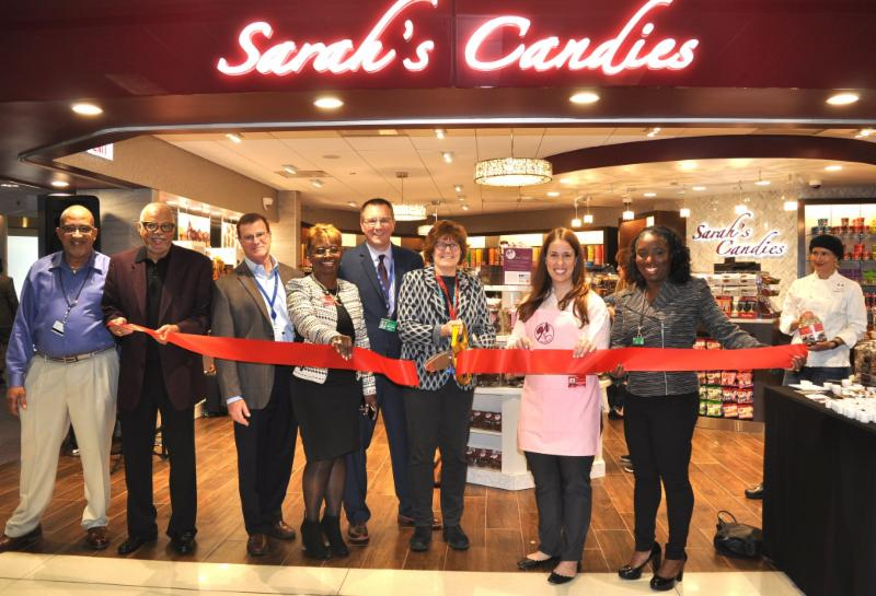 Chicago Department of Aviation welcomes confectionery concessionaire Sarah's Candies at Chicago O'Hare International Airport