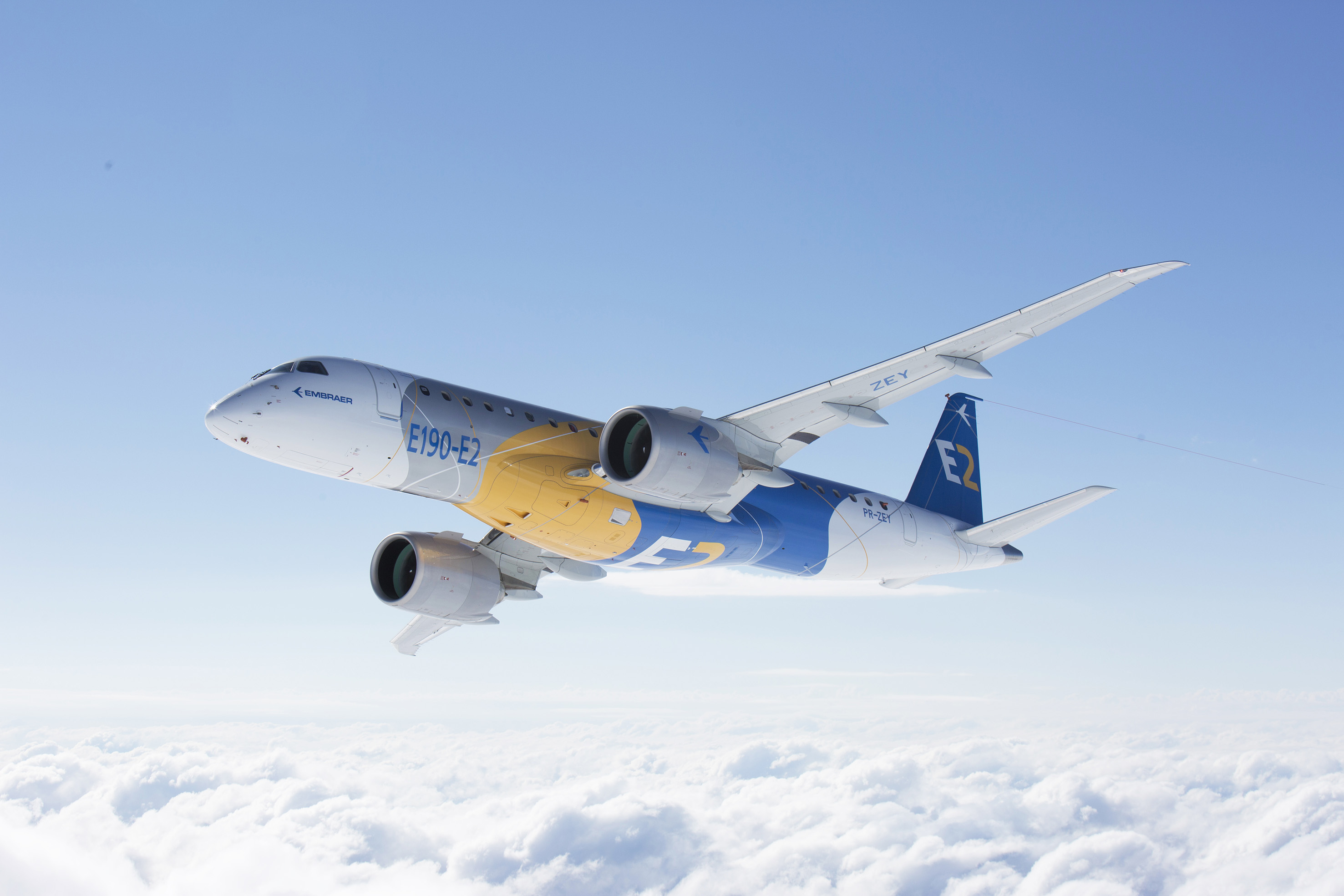 Embraer announces the completion of maiden flight of the E190-E2
