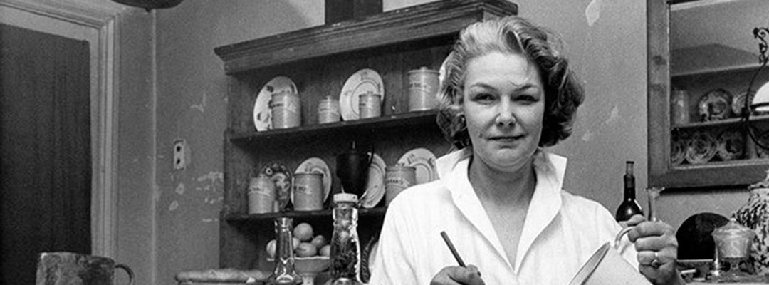 Food writer Elizabeth David honoured with blue plaque at her home in Chelsea