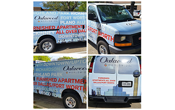 Oakwood Worldwide launches new look for their Home Services vehicles