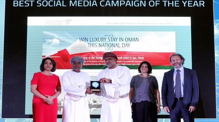 Oman Air honoured with four prestigious Oman Tech Awards