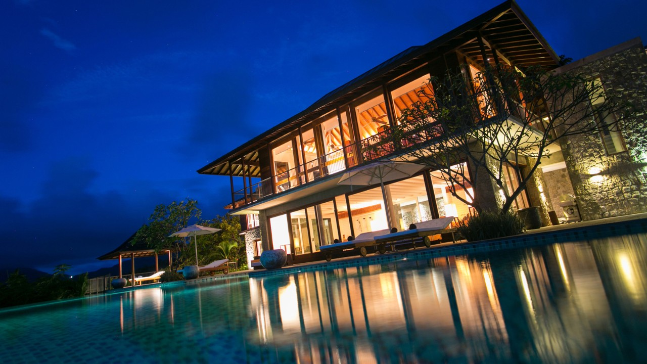 Unique Six Bedroom Residence is the latest addition to Four Seasons Resort Seychelles' range of Residential Villas