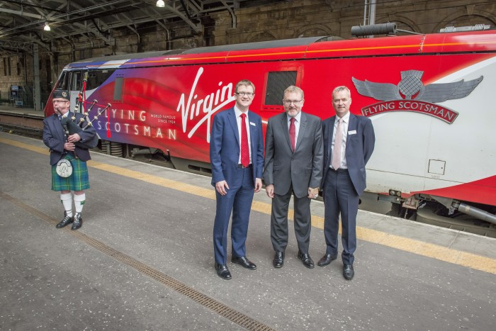 Virgin Trains' cross-border travel bookings surge following increased services between Edinburgh and London