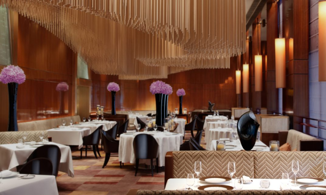 Amber at The Landmark Mandarin Oriental, Hong Kong takes the 20th place in the World's 50 Best Restaurants 2016