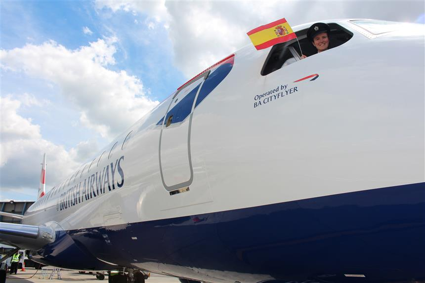 London City Airport welcomes British Airways' new flights from London to Alicante
