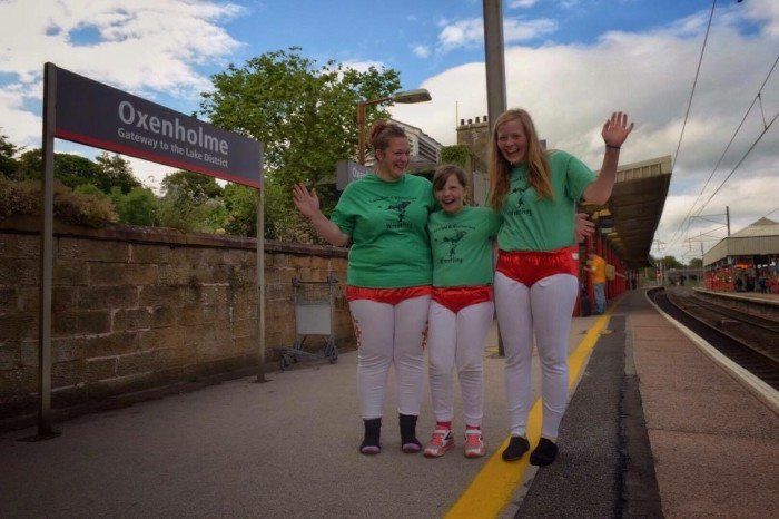 Virgin Trains helps raise awareness for the first Cumberland & Westmorland Women's Wrestling championship