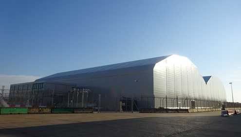 easyJet opens new 5,400 square metres maintenance hangar at London Gatwick Airport