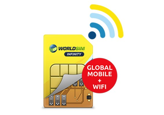Unlimited Wi-Fi access at more than 50 million WiFi hotspots worldwide