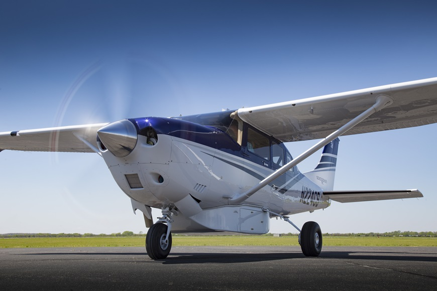 Travel PR News | Cessna debuts enhanced version of its Cessna Turbo