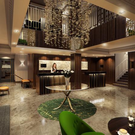 Hilton London Hyde Park Lobby
