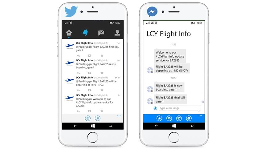 London City Airport passengers now can use Facebook Messenger to check real-time information on their flight