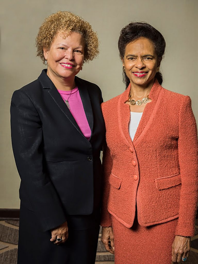 Debra Lee (left) and Mary Bush (right)