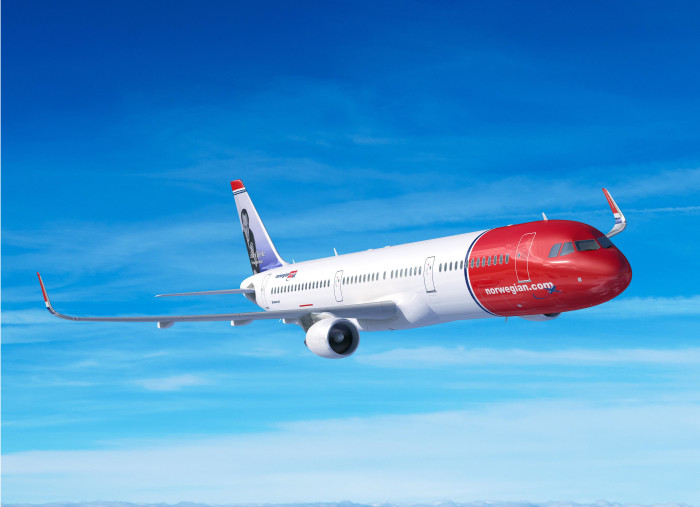 Norwegian's subsidiary Arctic Aviation Assets Ltd orders 30 Airbus 321 Long Range aircrafts