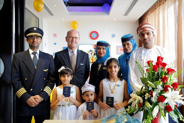 Oman Air invites young passengers to participate in Junior Sindbad Flyer campaign and win a free flight!