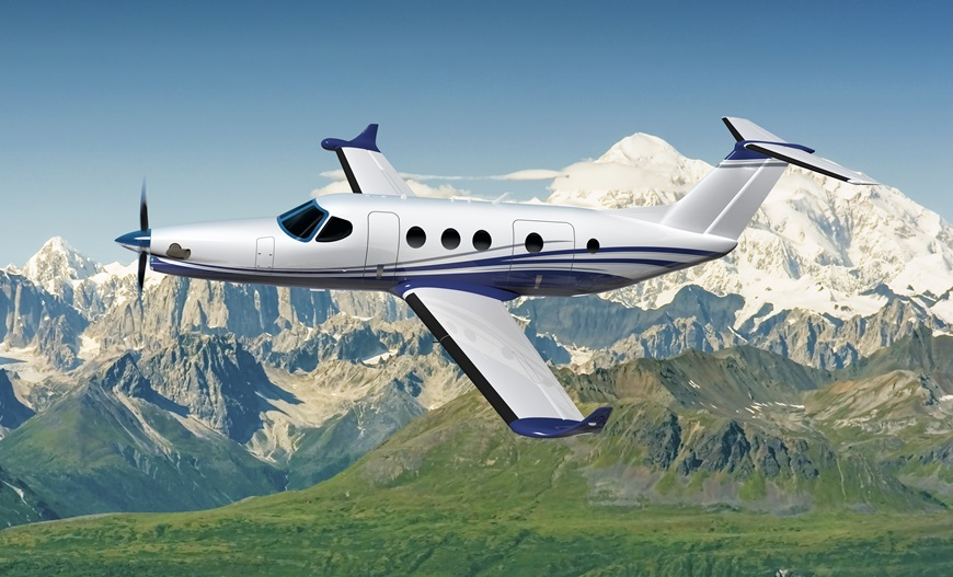 Textron Aviation unveils the single engine turboprop Cessna Denali at the EAA AirVenture Oshkosh