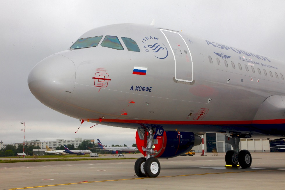 Aeroflot names its new A320 aircraft after prominent Russian physicist Abram Ioffe