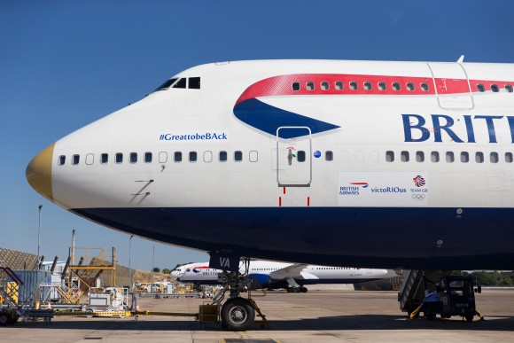 British Airways aircraft to fly Team GB and ParalympicsGB home from the Rio 2016 Olympic and Paralympic Games named 'victoRIOus'