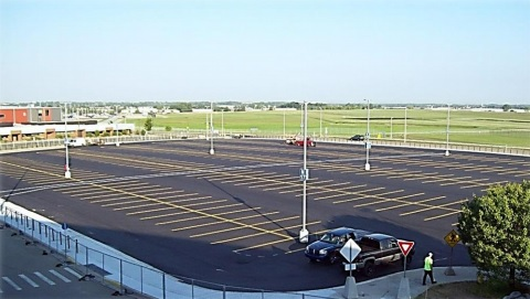 Gerald R. Ford International Airport reopens expanded parking at the North Lot