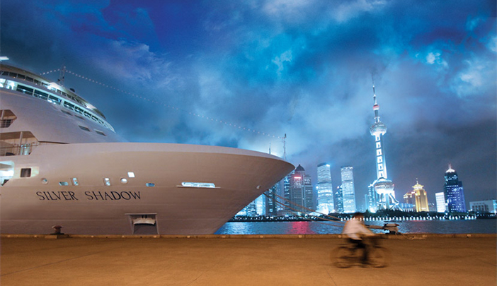 Silversea's Silver Shadow to be chartered by China Merchants Group for pan-Asia cruises between January 29, 2017 and May 4, 2017