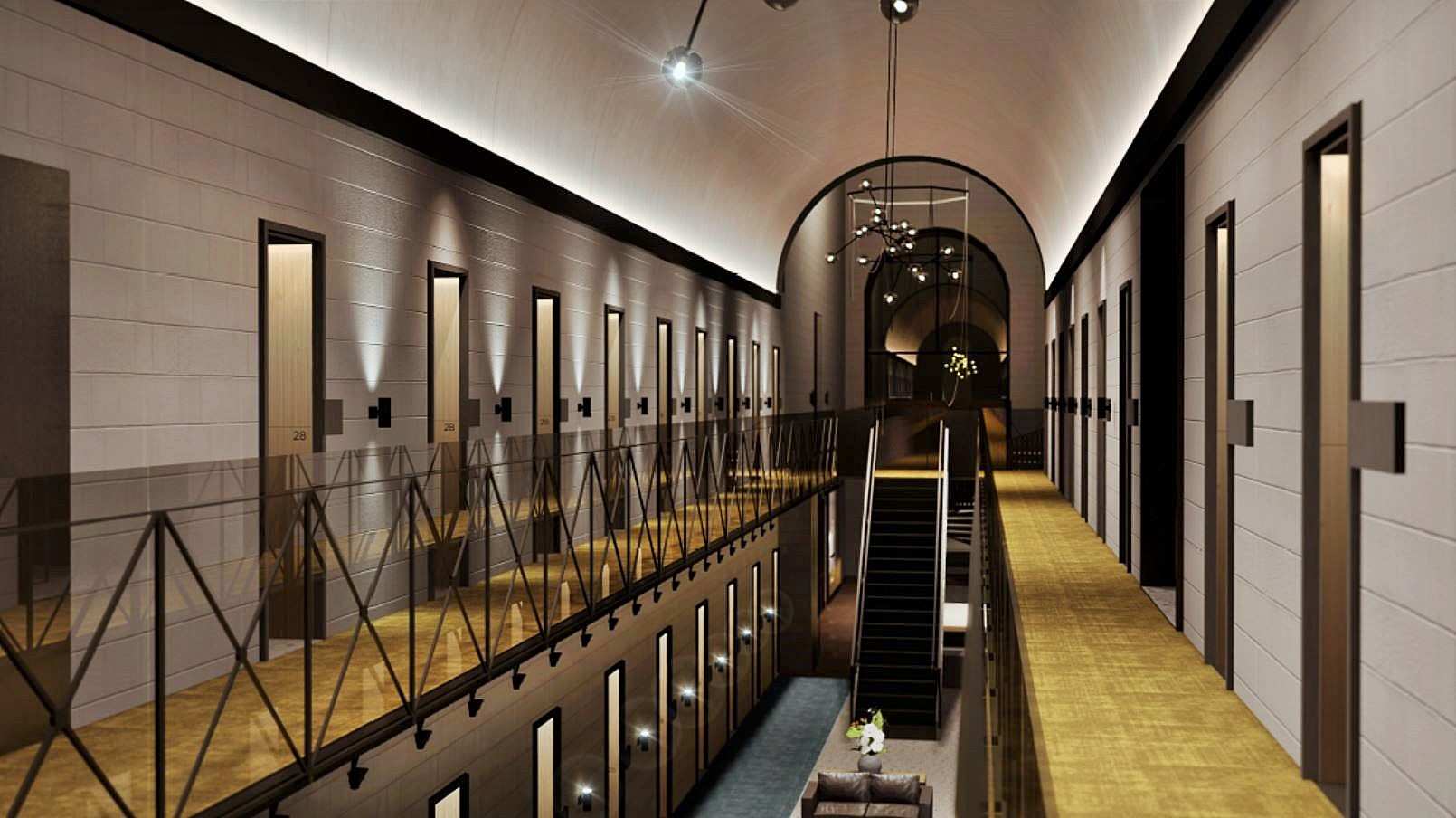 TFE Hotels offerS guests the chance to stay in a real converted prison! — the Adina Apartment Hotel Pentridge, Melbourne