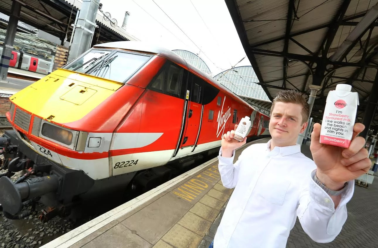 Virgin Trains announces healthy milk drinks 'Canny Milk' on-board its east coast services