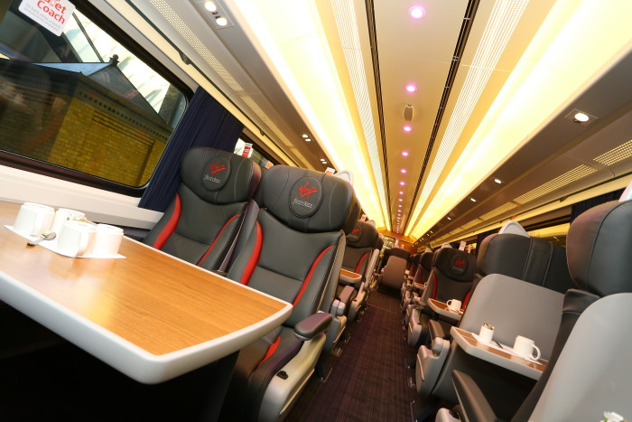 Virgin Trains reaches halfway point in its fleet refurbishment programme