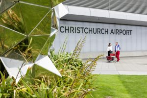 Christchurch Airport sets an all-time record of 6.3 million passengers for financial year 2016