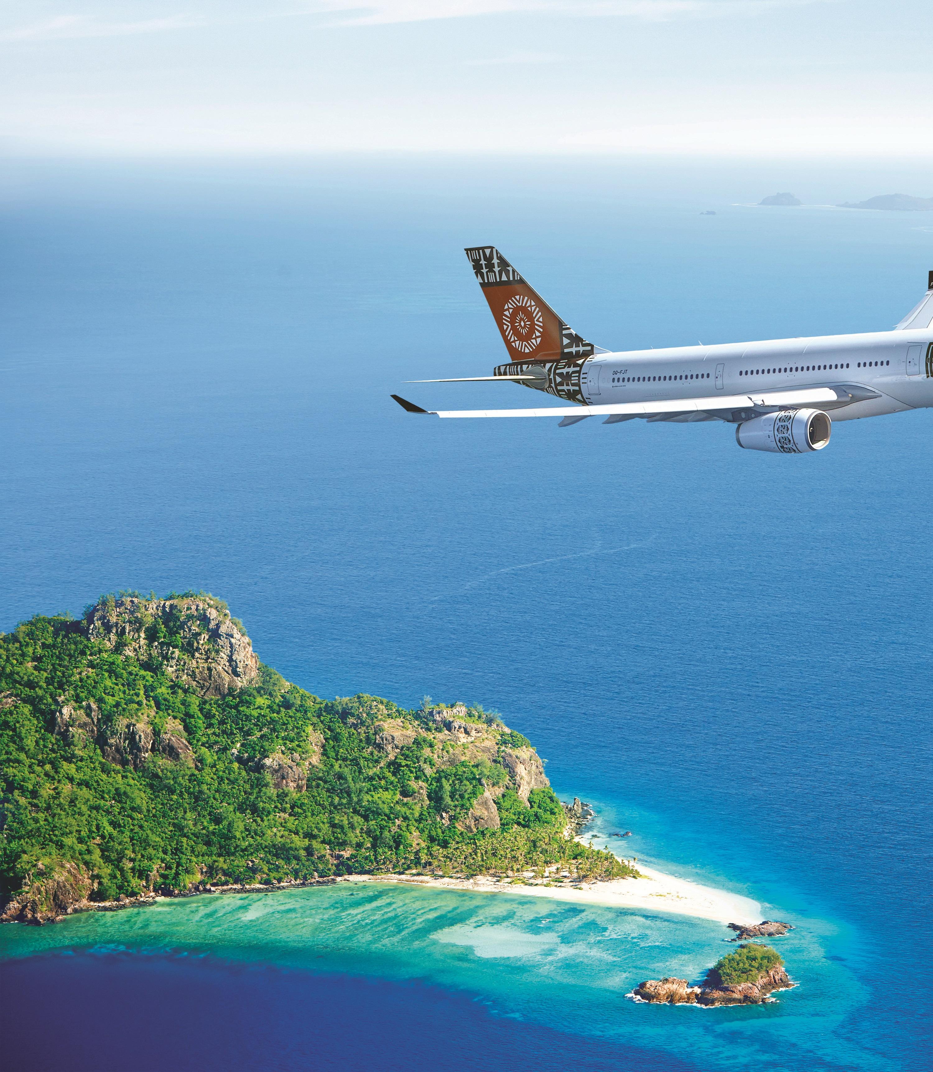 Christchurch Airport welcomes Fiji Airways' third permanent service between Christchurch and Nadi