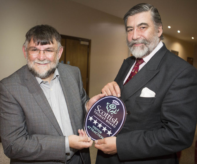Devil's Porridge Museum in Dumfries & Galloway honoured with Five Star Museum award by VisitScotland