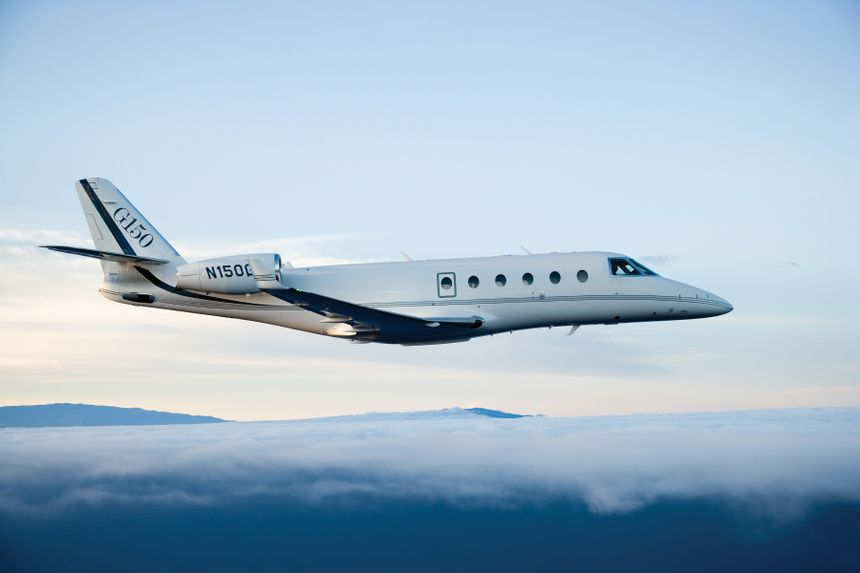 The G150 entered service in August 2006. Its performance immediately put it at the top of the mid-size class of business jets.