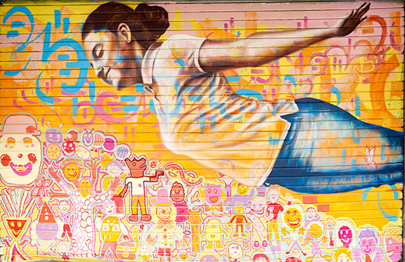 Park Inn by Radisson teams up with world famous street artist Joel Bergner as part of its commitment to protect young people at risk