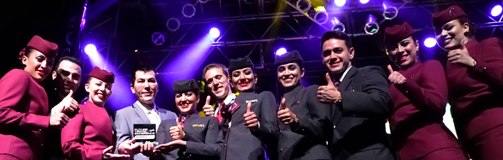 Qatar Airways again honoured with Best Up in the Air Experience at the Future Travel Experience Awards