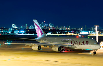 Qatar Airways increased daily capacity of its flights to Sydney with A380 aircraft