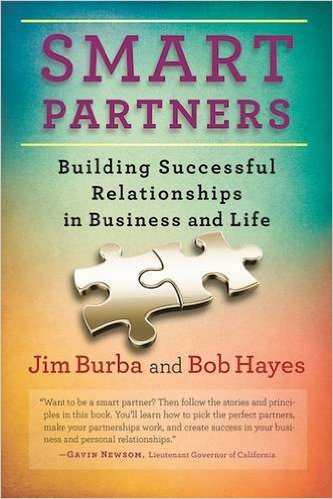 Smart Partners: Jim Burba and Bob Hayes release their new book