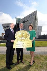 Titanic Belfast named Europe's Leading Visitor Attraction at the prestigious World Travel Awards