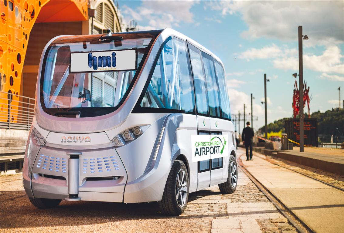 Christchurch International Airport to host New Zealand's first trial of fully autonomous electric vehicle