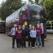 First Bus introduces new fuel-efficient buses equipped with latest technology on service U1 Lower Oldfield Park to University of Bath