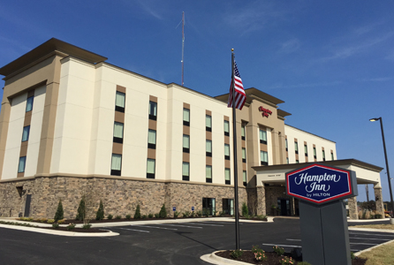 With convenient access to Highway 49 and I-412, guests of Hampton Inn by Hilton Paragould are within walking distance of Paragould Medical Park and Community Center. Credit: Hampton by Hilton.