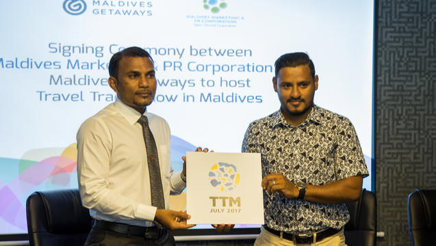 Maldives Marketing & Public Relations Corporation becomes Associate Partner for first Travel Trade Show of Maldives