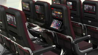 Qantas 787-9 Dreamliner with new cabins designed to maximise comfort for the longer distances