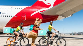 Qantas Frequent Flyer members in Australia to earn two Qantas Points for every dollar they spend with Deliveroo