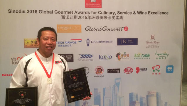Summer Island Maldives resort's Executive Chef, 'Jack' Tiang Toh Huat named one of the world's Top 50 'Outstanding Chefs'