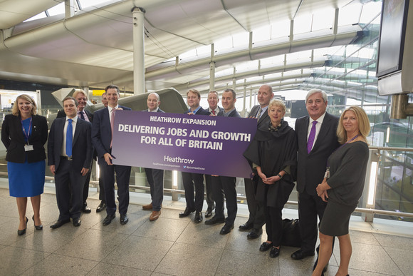 Union and business leaders pledge their ongoing support for Heathrow expansion